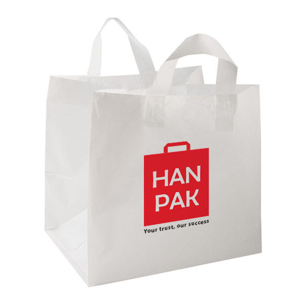 soft loop handle bag - Hanpak