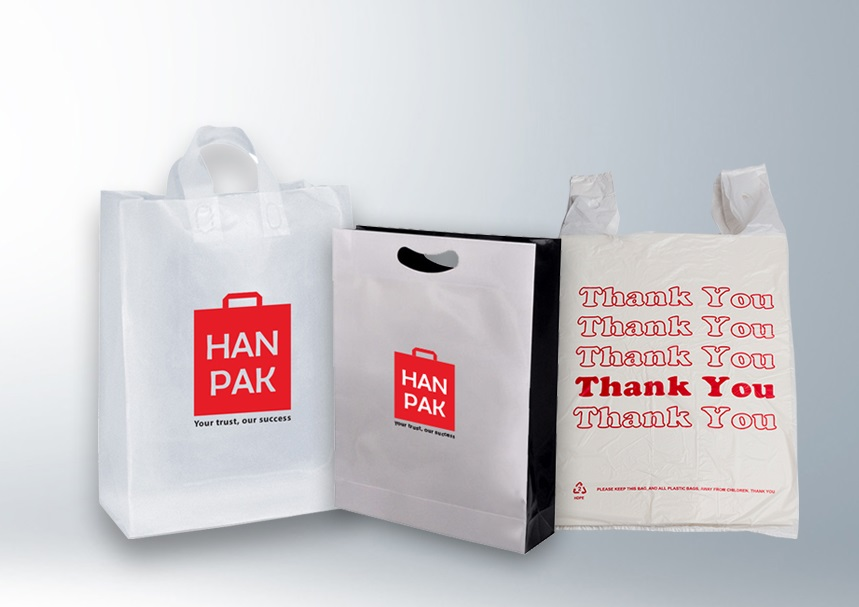 Plastic shopping bags advantages in people life