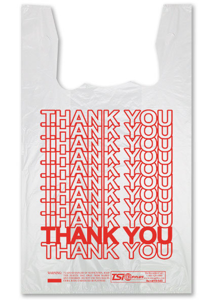 T shirt plastic bags with good quality and competitive price