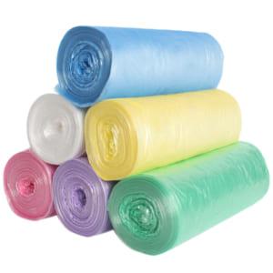 plastic bag on rolls