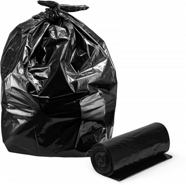 HDPE star-seal trash bags on roll from Vietnam manufacturer