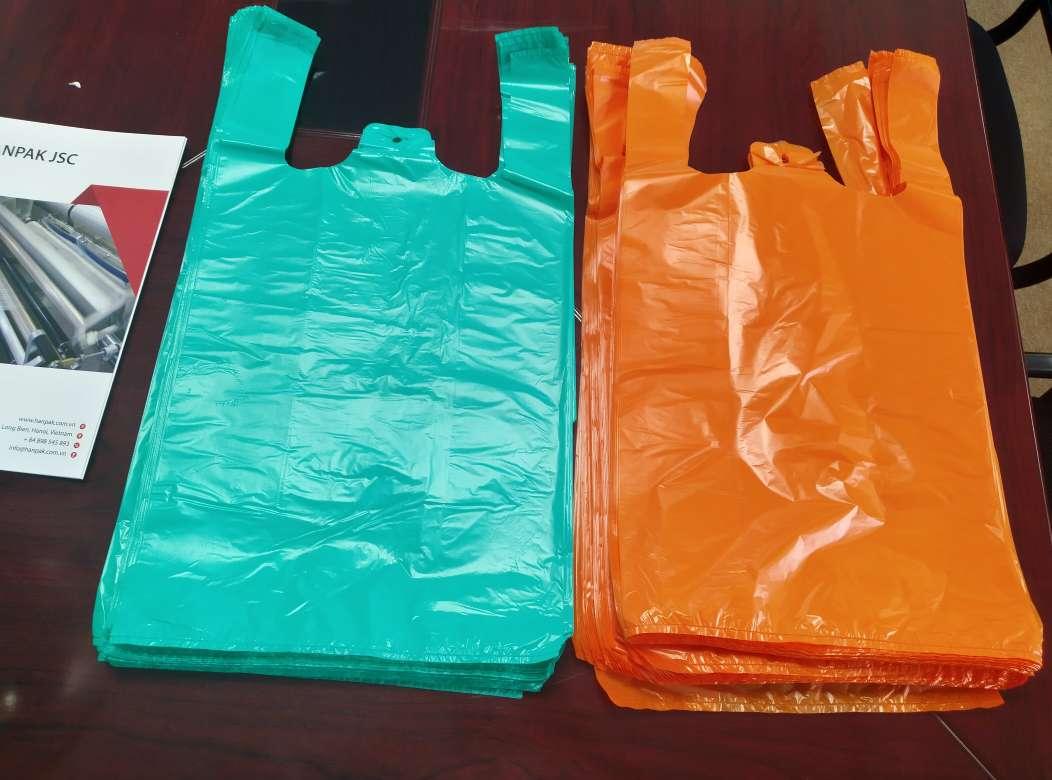 Vest handle shape bag