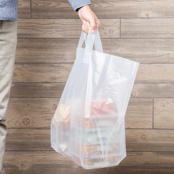Clear Soft-loop bags