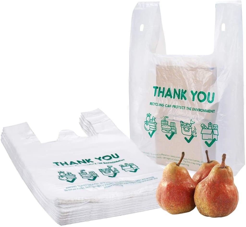 block heated t-shirt bags
