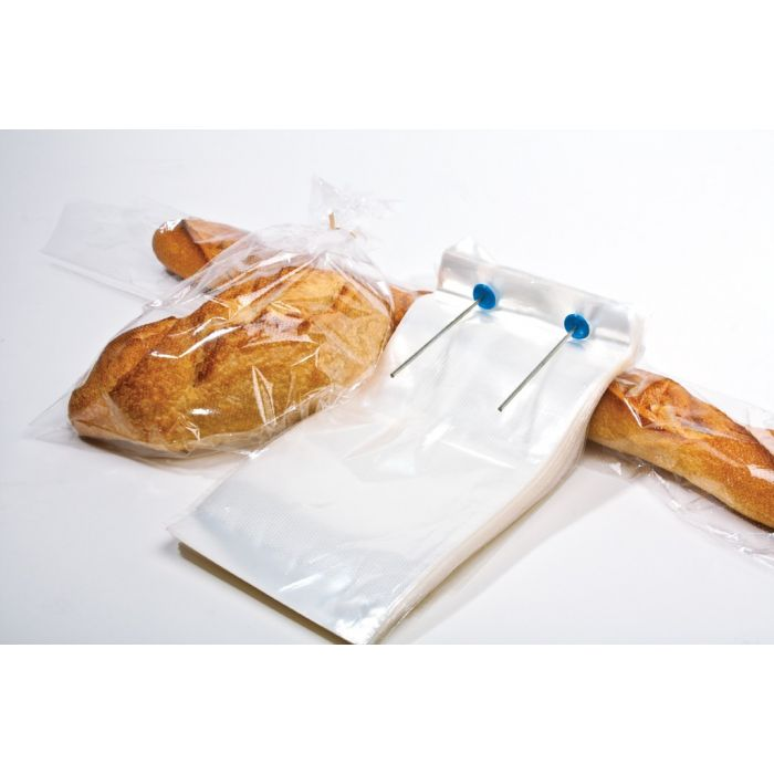 Wicketed bag for bread